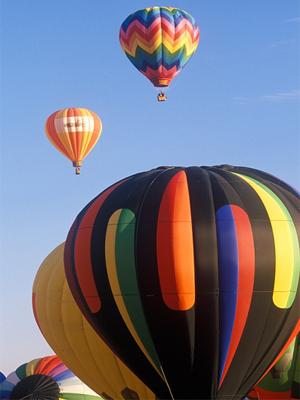Călătorii cu balonul