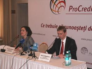 ProCredit Bank и НБМ - за прозрачность банковской системы