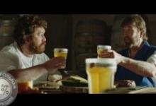 Чак Норрис снялся в рекламе российского пива