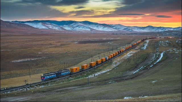 Container Train China
