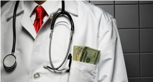doctor with money in pocket 2