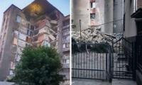 В Атаках рухнула часть многоэтажного дома