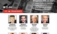 Conferința PRIA AML– Republica Moldova,  va avea loc online vineri, 26 martie 2021, de la ora 11.00
