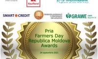 Fermierii din Republica Moldova vor fi premiați vineri, 24 septembrie 2021, în cadrul Galei Pria destinata fermierilor moldoveni