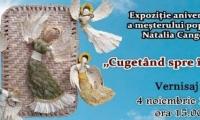 Expoziţia meşterului popular Natalia Cangea