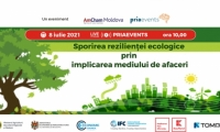 PRIA ENVIRONMENT- Sporirea rezilientei ecologice prin implicarea mediului de afaceri din Republica Moldova