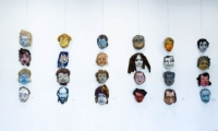Legendarele măști create de Glebus Sainciuc pot fi admirate la Muzeul de Artă din Chișinău