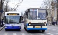 Pe 11-12 aprilie, circulaţia transportului de pasageri în Chişinău şi Bălţi va fi sistată