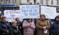 Протесты против незаконных действий Кишинёвской примэрии